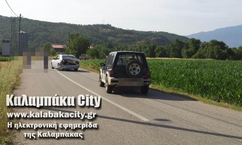 Μύκανη Καλαμπάκας - Σύγκρουση οχημάτων με υλικές ζημιές
