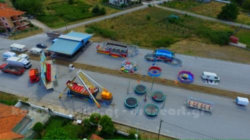 Εμποροπανήγυρη Καλαμπάκας - Άρχισε η κατασκευή των παραπηγμάτων