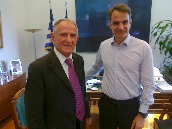 Τον Κώστα Πατέρα κάλεσε ο Κυριάκος Μητσοτάκης για στήριξη του κόμματος στα  Τρίκαλα – KALAMPAKA | ΕΙΔΗΣΕΙΣ | NEWS | METEORA